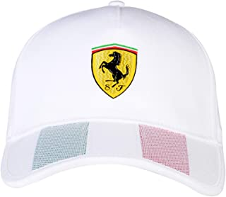 Ferrari Mens Italian Flag Hat