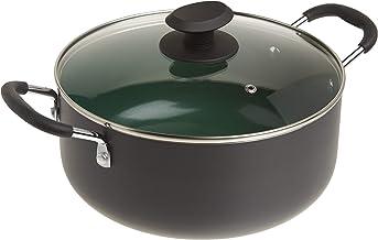 طقم مقلاة طعام من السيراميك غير لاصق هوم هومنغتون من جيبسون 5-Quart Dutch Oven 92138.02