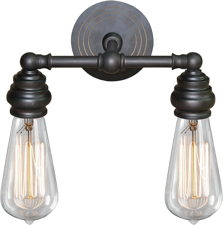 Regular store AA Warehousing L2932ORB Tiffany 2 Oil Bronze trend rank Light Rubbed Bath