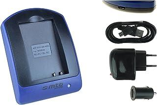 Batteria Patona caricabatteria casa//auto per Aiptek PocketCinema V10,V10 Plus