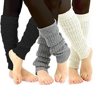 TeeHee Socks TeeHee Women's Fashion Boot Topper/Leg Warmers Assorted Value Pack
