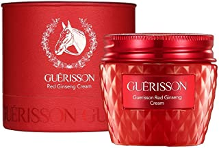 GUERISSON Red Ginseng Cream 2.03 fl.oz. (60g) - Contained Horse Oil & Red Ginseng Extract, Antioxidant & Anti-Aging & Powerful Hydrating Facial Cream