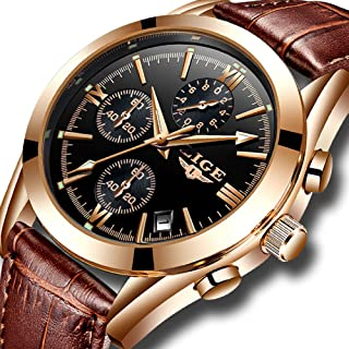 Watches,Mens Full Stainless Steel Luminous Quartz Watch...