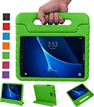 NEWSTYLE Samsung Galaxy Tab A 10.1 Kids Case - Shockproof Light Weight Protection Handle Stand Case for Samsung Galaxy Tab A 10.1 Inch (SM-T580 / T585) Tablet 2016 Release (Green) Not Fit Other Models