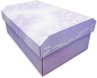 紫苑 ペット用 お棺 中型サイズ ダンボール 組み立て式