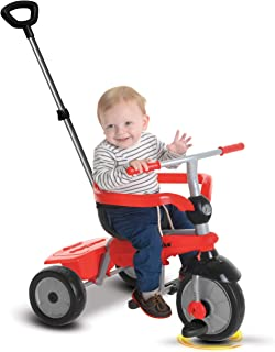 smarTrike Breeze Baby Tricycle, Red