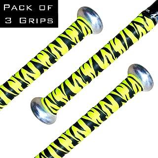 Alien Pros Bat Grip Tape for Baseball and Softball (3-Pack) – Non-Slip Easy to Install Bat Tape – Perfect Baseball bat Grip for Aluminum or Wood bat Grip (3-Pack)