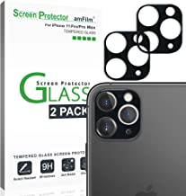 amFilm Glass Screen Protector for iPhone 11 Pro / 11 Pro Max Back Camera Protector (2 Pack)