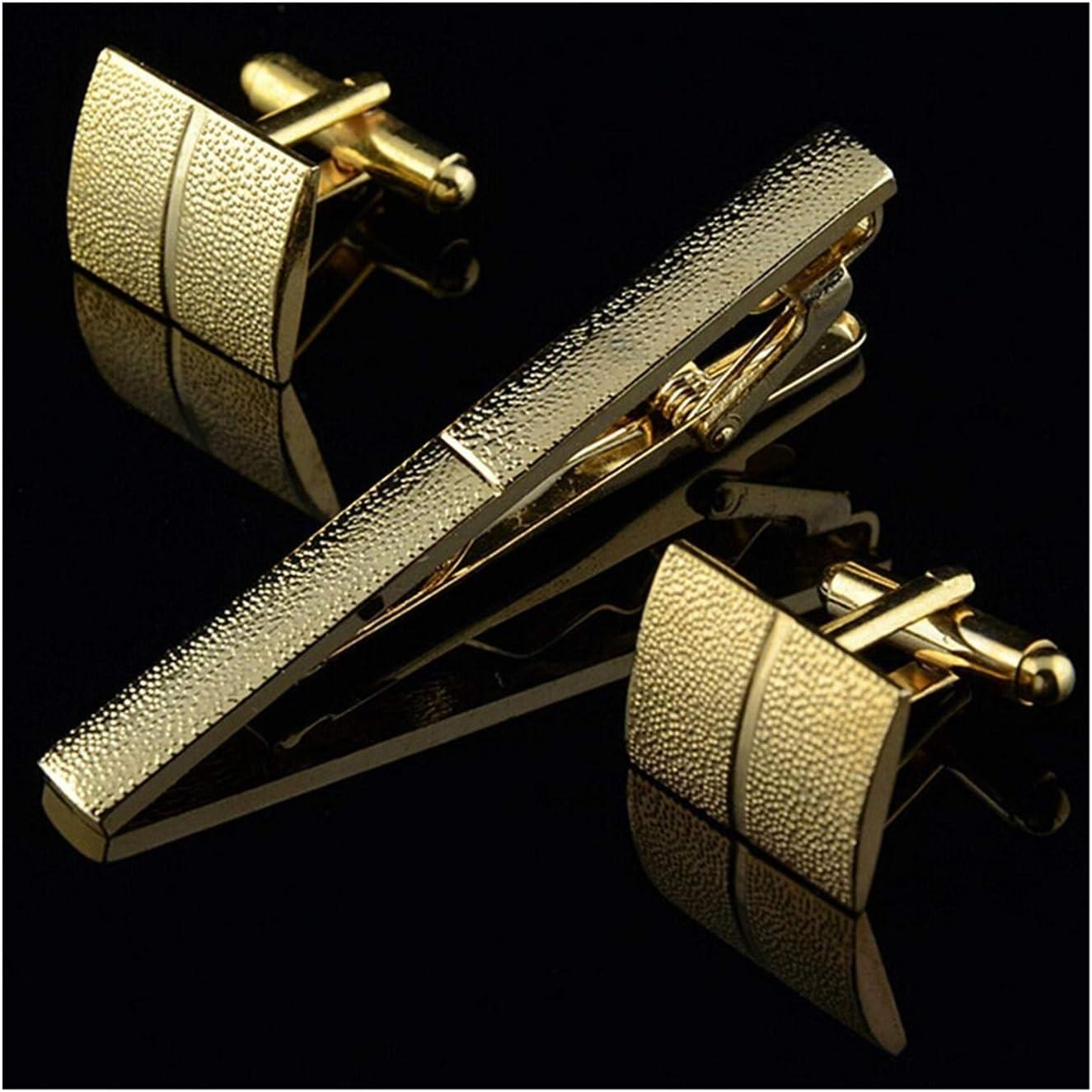 WAZG SYBLD Men's Tie Clip Cufflinks