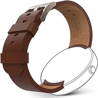 OEM Moto 360 1st Gen. Leather Band - Cognac Leather, 98919N