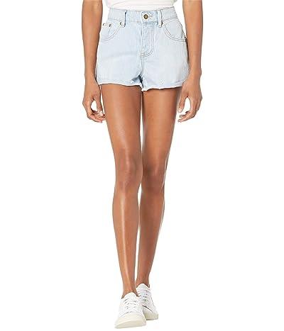Rip Curl Amy Denim Shorts II (Light Blue) Women
