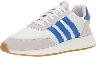 adidas Originals Men's I-5923 Shoe, White/Blue/Gum, 13.5 M US