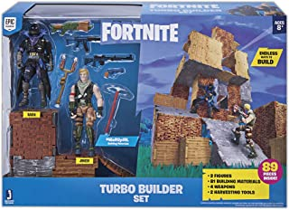Fortnite Turbo Builder Set 2 Figure Pack, Jonesy & Raven