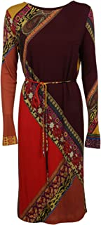ETRO Luxury Fashion Womens 180455267300 Multicolor Dress | Fall Winter 19