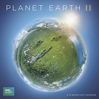 planet earth calendar