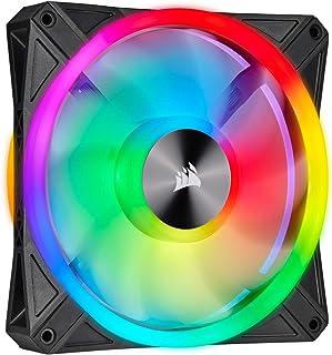 Corsair QL Series, QL140 RGB, 140mm RGB LED Fan, Single Pack