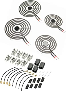 Supplying Demand MP21YA MP15YA Electric Range Burner Kit 8 Pc. With Plugs 330031