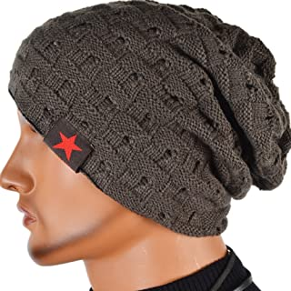 FORBUSITE Men Women Slouchy Beanie Skull Cap Winter Hats XM085