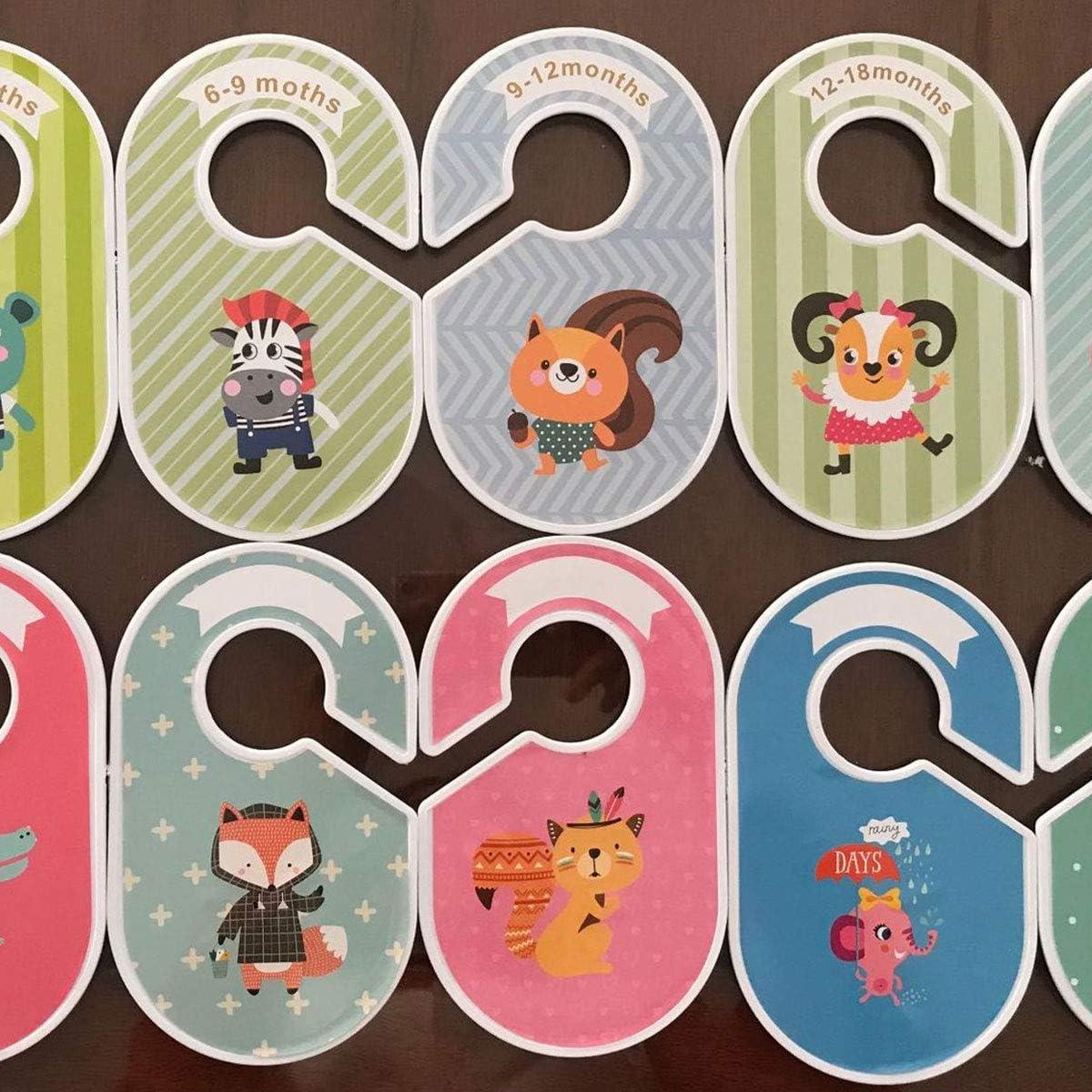 18 Placard organisateurs//Cintres-organisé par Cozy Hérisson bébé Armoire Diviseurs