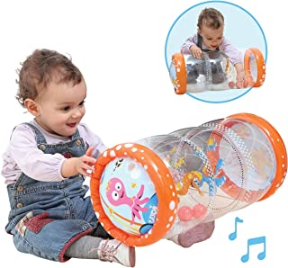 Ludi - Cilindro hinchable de actividades para bebé