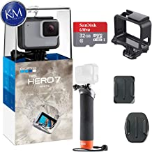 GoPro HERO 7 (White) Action Camera w/ 32GB Memory and...