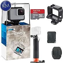 GoPro HERO 7 (White) Action Camera w/ 32GB Memory and...