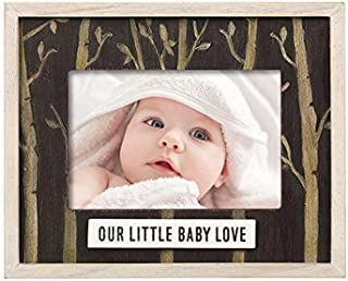 """Grasslands Road 465466 Our Little Love Frame Baby Product, 7 3/8"""" x 9 1/8"""", Multicolored"""