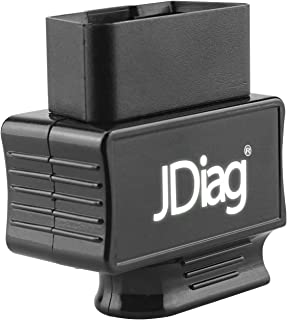 JDIAG Auto Car Automotive Vehicle Wireless Bluetooth OBD2 Code Reader Check Engine Light OBDII Scan Tool Scanner