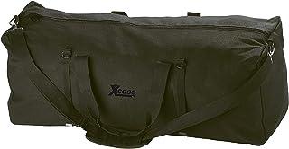 Xcase Jumbo Tasche XXL: Faltbare XXL-Jumbo-Canvas-Reisetasche mit Schultergurt, 105 Liter Transporttaschen