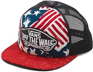 Vans Off The Wall Women's USA Print Beach Girl Trucker Hat Cap - Red/White/Blue