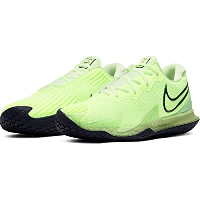 Nike NikeCourt Air Zoom Vapor Cage 4 (Ghost Green/Blackened Blue/Barely Volt) Men