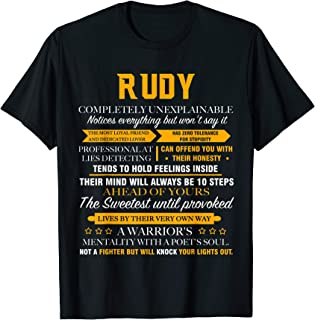 RUDY completely unexplainable name shirt father's day 7