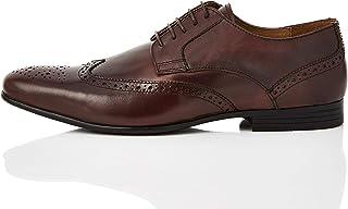 Marca Amazon - find. Ashby - Zapatos de cordones brogue Hombre