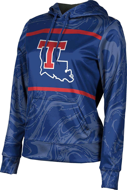 ProSphere Louisiana Tech University Girls' Pullover Hoodie, School Spirit Sweatshirt (Ripple)