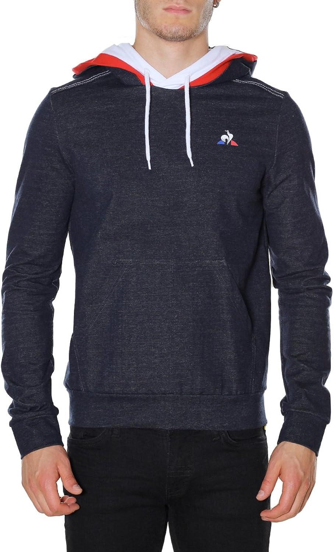 Le Coq Sportif Tri Hoody Denim N°1 Sky Captain Ft, Sweatshirt
