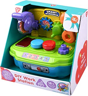 Playgo DIY Work Station Activity Toy, Multi-Colour