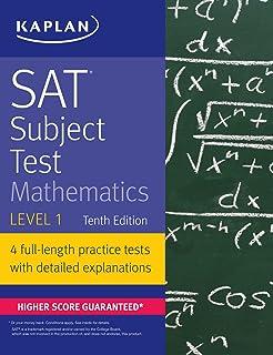 SAT Subject Test Mathematics Level 1 (Kaplan Test Prep) Paperback