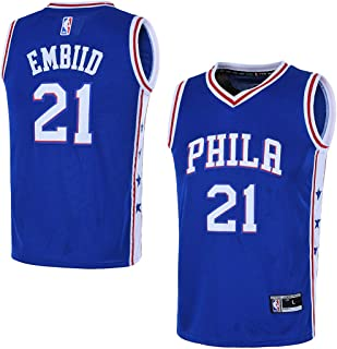 Outerstuff Youth 8-20 Philadelphia 76ers #21 Joel Embiid Jersey