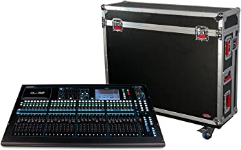 Gator Cases G-TOUR ATA Style Road Case - Custom Fit for Allen and Heath QU32 Mixer with Dog House and Heavy Duty 4