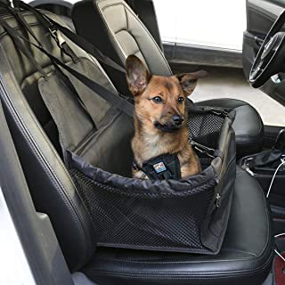 Waterproof Dog, Pet Car Auto Seat Booster,Portable Carrier, Protector Safety Basket,