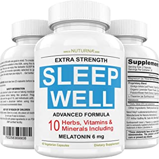 Sponsored Ad - Neuropathy & Diabetic Sleep Support - Recover Faster with Extra Strength Sleep Formula - 10 Scientifically ...