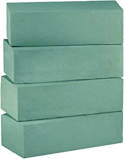 Ideal for Fresh or Dried Flowers 48 Foam Bricks 7 Quantity Variations Professional Quality Flower Foam Floral Foam Blocks for Flower Arrangements Box of 48 Create Snappy Bouquets and Sprays