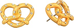 Dashing Beauty Pretzel Studs Earrings