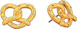 Dashing Beauty Pretzel Studs Earrings