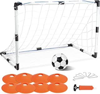 EP EXERCISE N PLAY Soccer Goal Set, Football Training Sports Toy, Training Ball Indoor Outdoor, for Boys and Girls