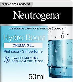 Neutrogena Hydro Boost Crema Gel Hidratante Facial con Ácido Hialurónico, 50 ml