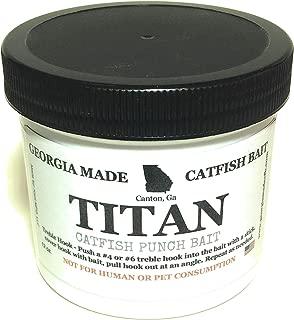 Georgia Made Catfish Bait Titan Punch Bait 12 oz.