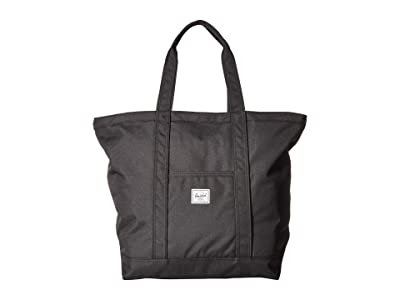 Herschel Supply Co. Bamfield Mid-Volume (Black 3) Tote Handbags