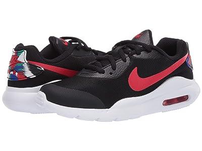 Nike Kids Air Max Oketo (Big Kid) (Black/University Red/Hyper Blue) Kids Shoes