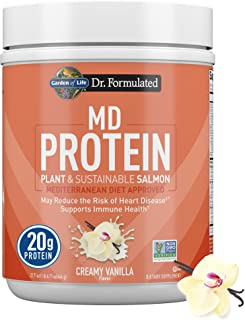 Dr. Formulated MD Protein Sustainable Plant & Salmon Vanilla (14 serving)